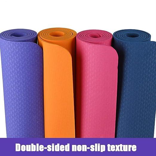 jkkl Colchonetas de yoga aeróbico de India 183 * 61 cm ...