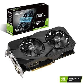 ASUS GeForce GTX 1660 Super Dual EVO 6GB GDDR6 Tarjeta gráfica DP ...