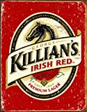 "Desperate Enterprises Killian's Irish Beer Logo Tin Sign, 12.5"" W x 16"" H"