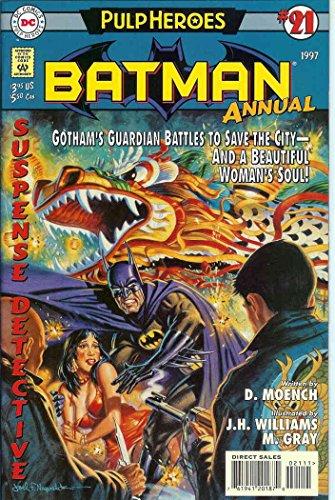 Batman #Annual 21 VF/NM ; DC comic book