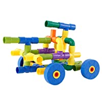 Fine Water Pipe Plug Matches Building Blocks Puzzles Toys,Children's DIY Assembling Toy Creative Jigsaw Puzzle Game Educational Toys for Children Building Block Toys Set
