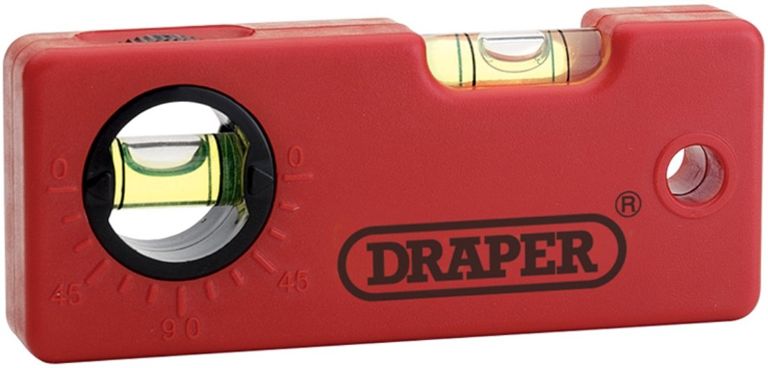 Draper 44444 - Nivel (tamañ o: 100mm) Draper Tools