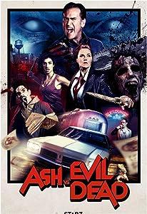 arteWOODS Ash vs The Evil Dead Season 2 (2016) Movie-Wall Sticker Poster Light Canvas Decoration se Puede Colgar directamente60x80cm con Marco