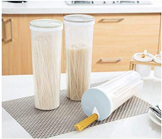 a prueba de fugas con tapas de bloqueo Tallarines de espagueti de almacenamiento de alimentos//recipiente de pasta herm/ético