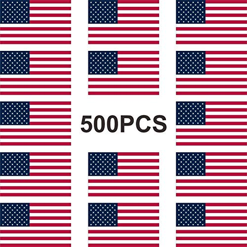 American Flag Stickers Patriotic Sticker Roll Of Stickers 2