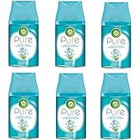 Air Wick Freshmatic Max Pure, navulling voor automatische geurspray, verfrissende lente, 3 x 2 stuks (6 x 250 ml)