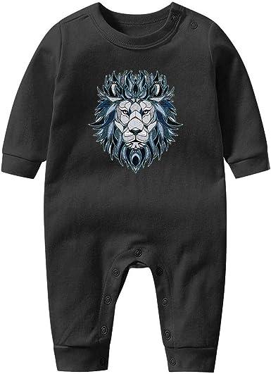 GFJHBVNBVC Colorful Mountain Bear Fashion Baby Crawling Suit Lone-Sleeved Romper Bodysuit