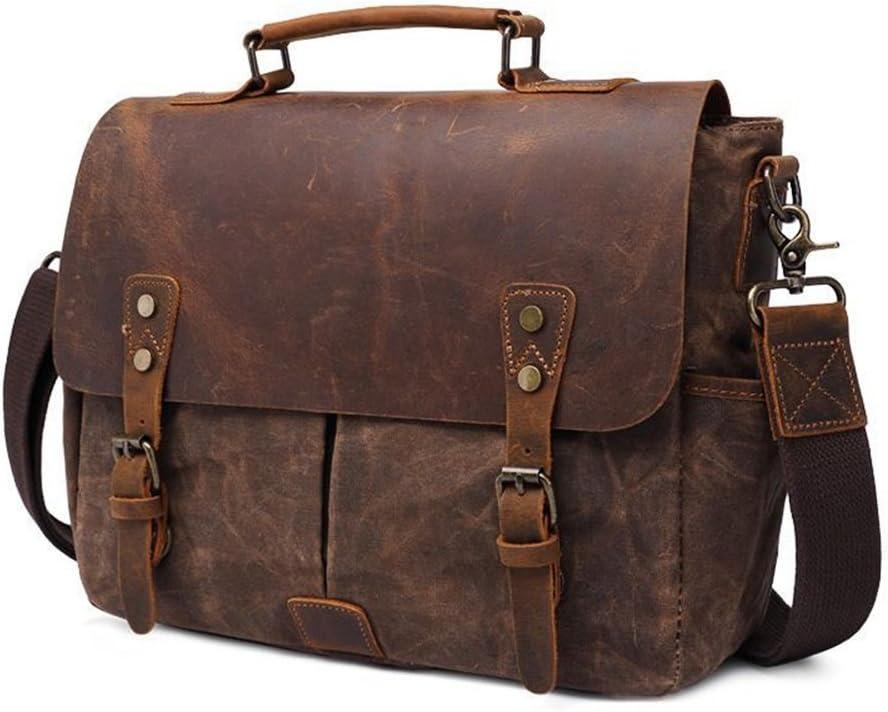 Bxfdc Mens Bag Business Briefcase Shoulder Messenger Bag Computer Bag Fashion Casual Tote