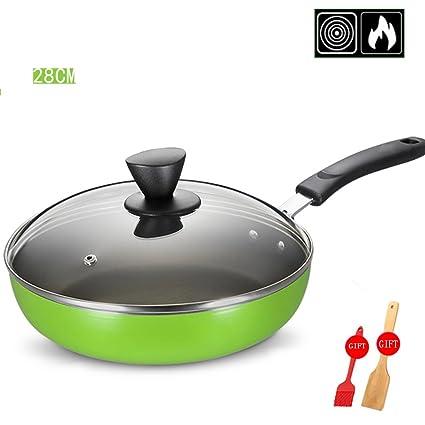 LLW-Frying Pans Sartén para Sartenes 24/26 / 28CM Home Sartén Cocina De
