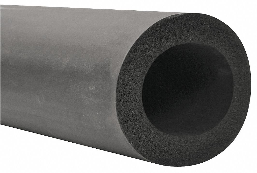 1-7/8'' x 6 ft. EPDM Pipe Insulation 1'' Wall