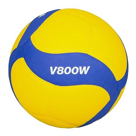 MIKASA V800W - Balón de Voleibol, Color Azul, 5: Amazon.es ...