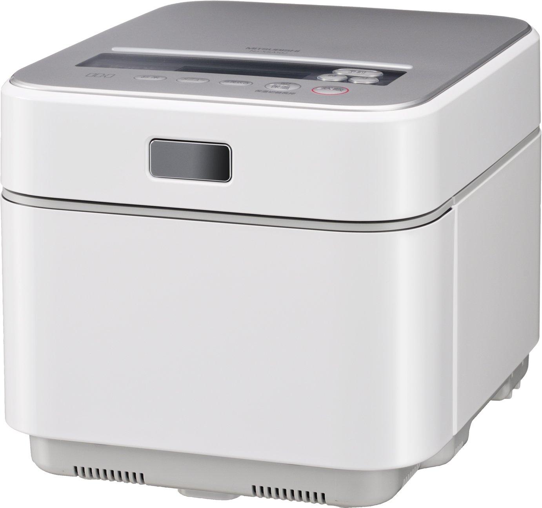 三菱電機 NJ-XSA10J-W IHジャー炊飯器「蒸気レスIH」 (クリスタルホワイト)   B003554FG2