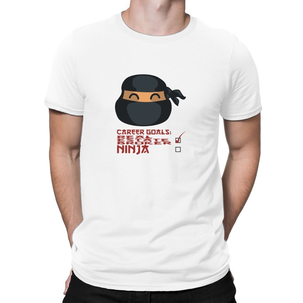 Teeburon Career Goals Real Estate Broker Ninja Camiseta ...