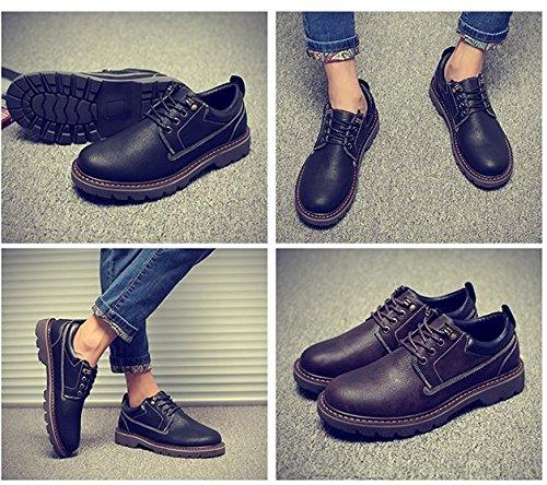 HL PYL e Calzature scarpe di Nero Martin stivali scarpe 38 casual inglese cuoio uomo q6wdSqr
