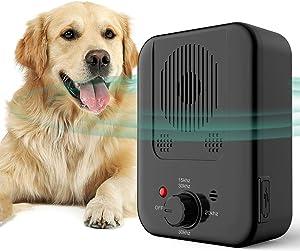 ULTPEAK Dog Barking Control Device, New Barking Device USB Rechargeable Sonic Barking