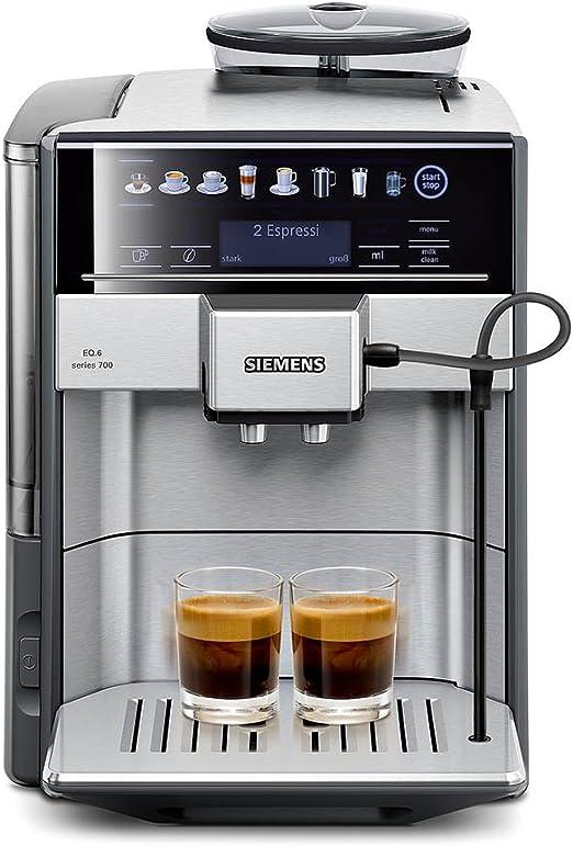 Siemens TE617503DE - Cafetera (Independiente, Máquina espresso, 1 ...