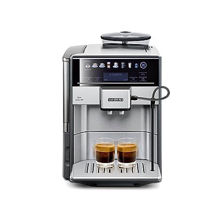 Siemens TE617503DE - Cafetera (Independiente, Máquina espresso, 1,7 L, Molinillo integrado, 1500 W, Acero inoxidable)