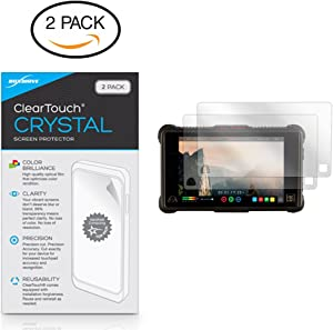Atomos Ninja Inferno Screen Protector, BoxWave® [ClearTouch Crystal (2-Pack)] HD Film Skin - Shields from Scratches for Atomos Shogun Inferno | Ninja Inferno