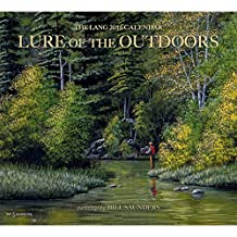 Perfect Timing Lang Lure of The Outdoors 2016 Wall Calendar by Bill Saunders, January 2016 to December 2016, 13.375x24-Inch (1001929)