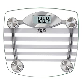 Taylor Precision Products The Biggest Loser Glass Digital Scale