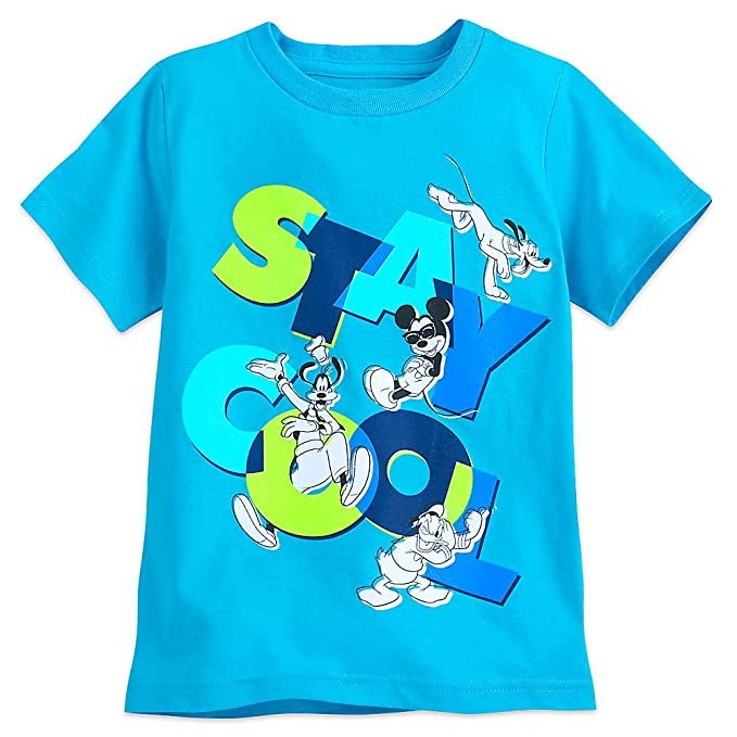 6c9b7a0d3fd Amazon.com  Disney Mickey Mouse and Friends T-Shirt for Boys - Blue ...