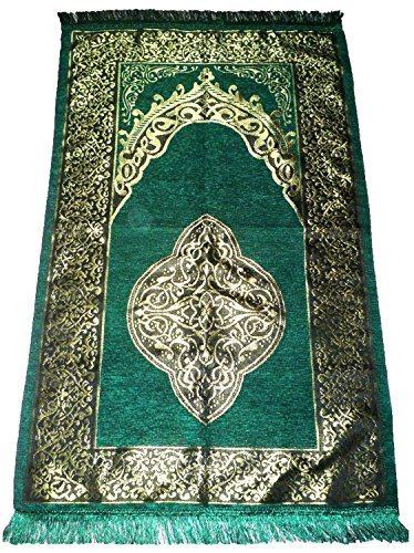 Islamic Prayer Mat Turkish Ottoman Sajadah Thin Prayer Rug