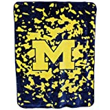 College Covers Michigan Wolverines Throw Blanket/Bedspread