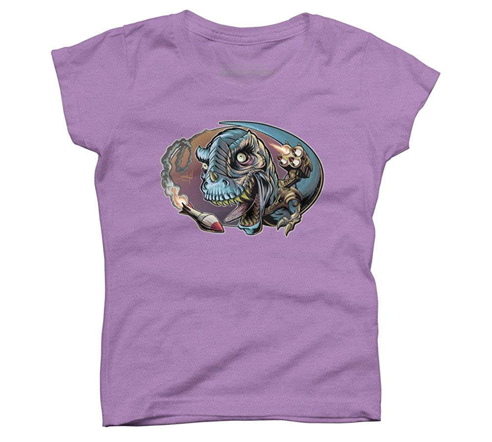 Rocket Rex Girls Youth Graphic T Shirt Design By Humans