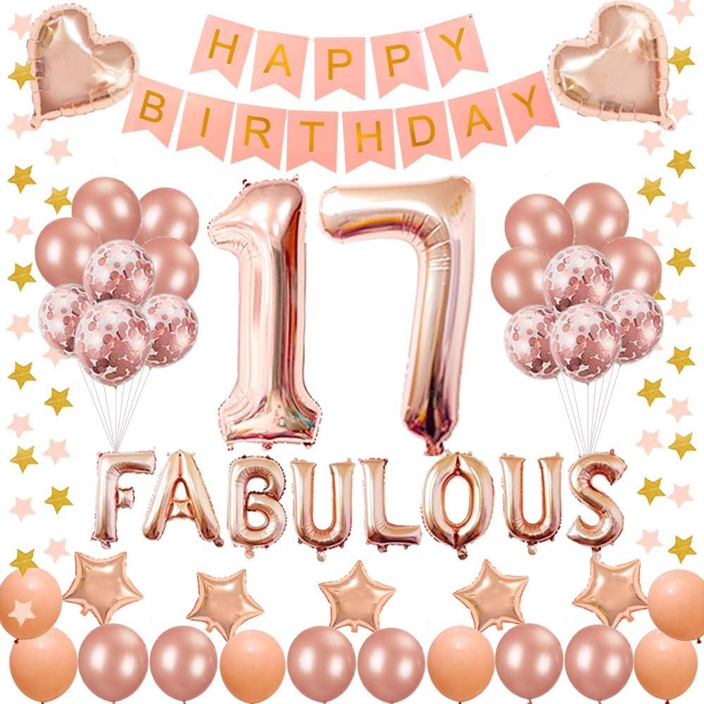 17 piece Birthday Pin//Happy Birthday Banner// 10 Silver and Star Confetti Balloons// 2 Star Foil Balloons /& MORE Stellar Seller Birthday Kit