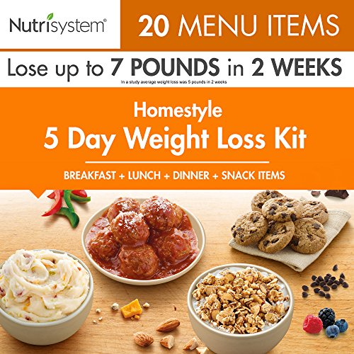 Nutrisystem® 5 Day Weight Loss Kit, Homestyle (7 Meals A Day For Weight Loss)
