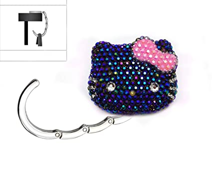 35bb39b470ef Amazon.com  LOVEKITTY 3D Fully Blinged Out Foldable Hello Kitty ...