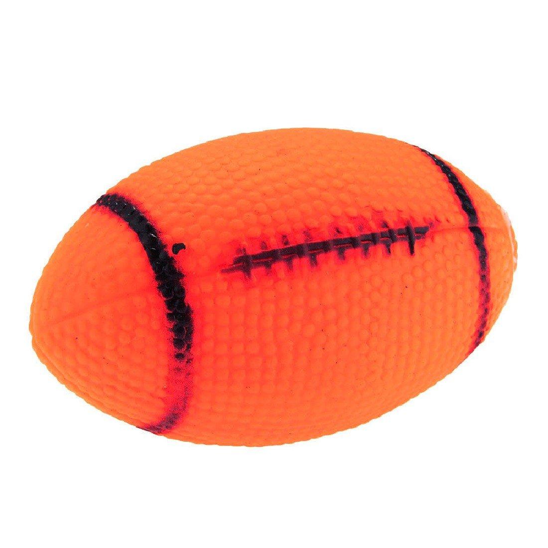 Mascota Perro Cachorro Squeak Chew Jugar Juguete de balón de Rugby ...