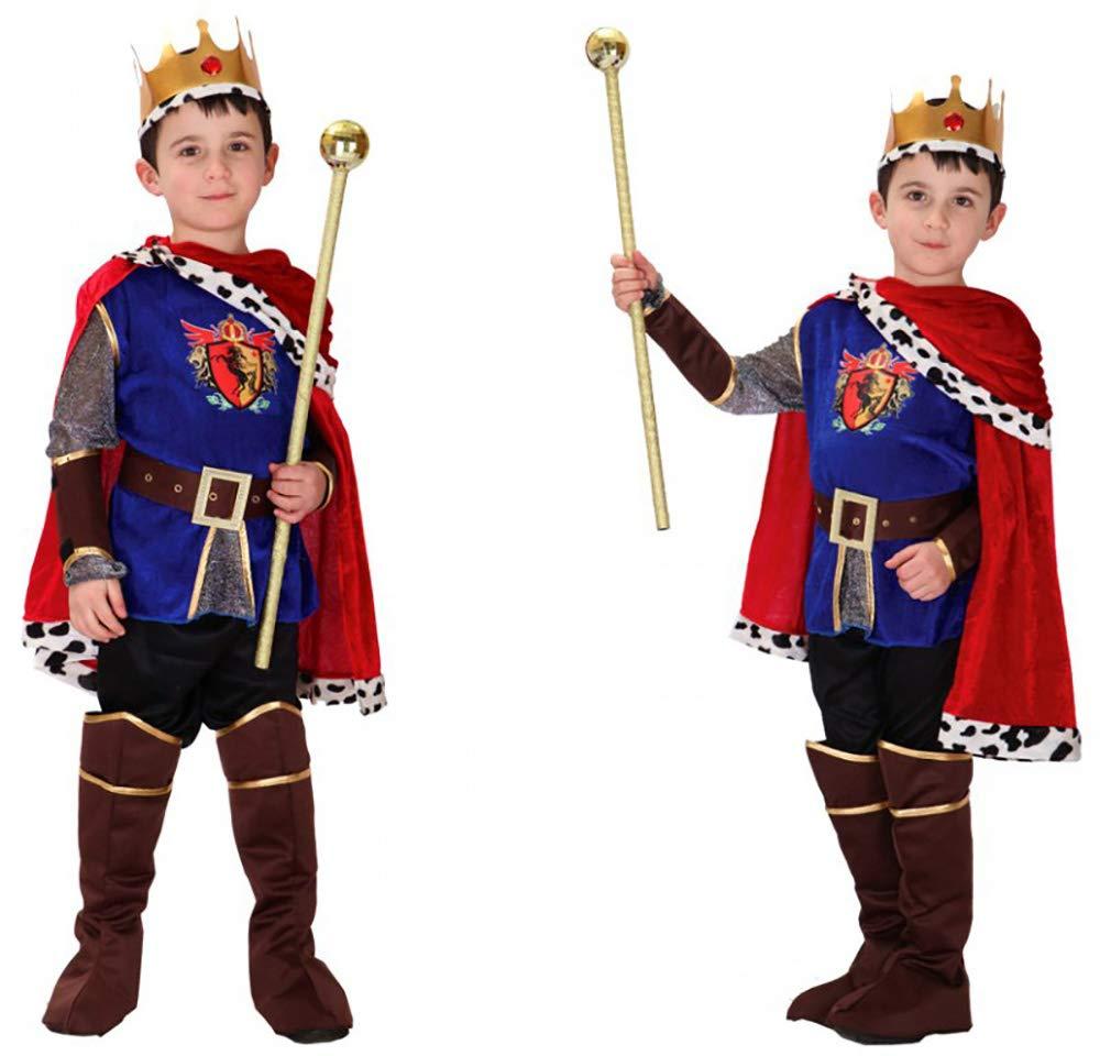 YuFLangel Spiel Dress Up Prinz Charming Kostüm Cos Arabian Kostüm Kostüm Kinder Prinz Kostüm Kinder Halloween Kostüm Mädchen Jungen Halloween Cosplay Kleid Kostüm 4-12 (Größe : M)
