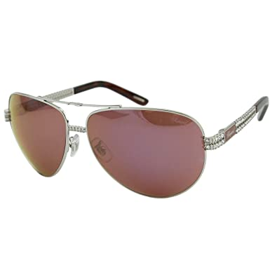 b6bda1b05b Chopard Heure Du Diamant SCH-B24 Women Precious Embellished Aviator  Sunglasses  Amazon.co.uk  Clothing