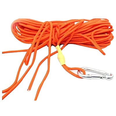 20 M Snorkeling sécurité Corde Lifeline Dive Float ligne orange