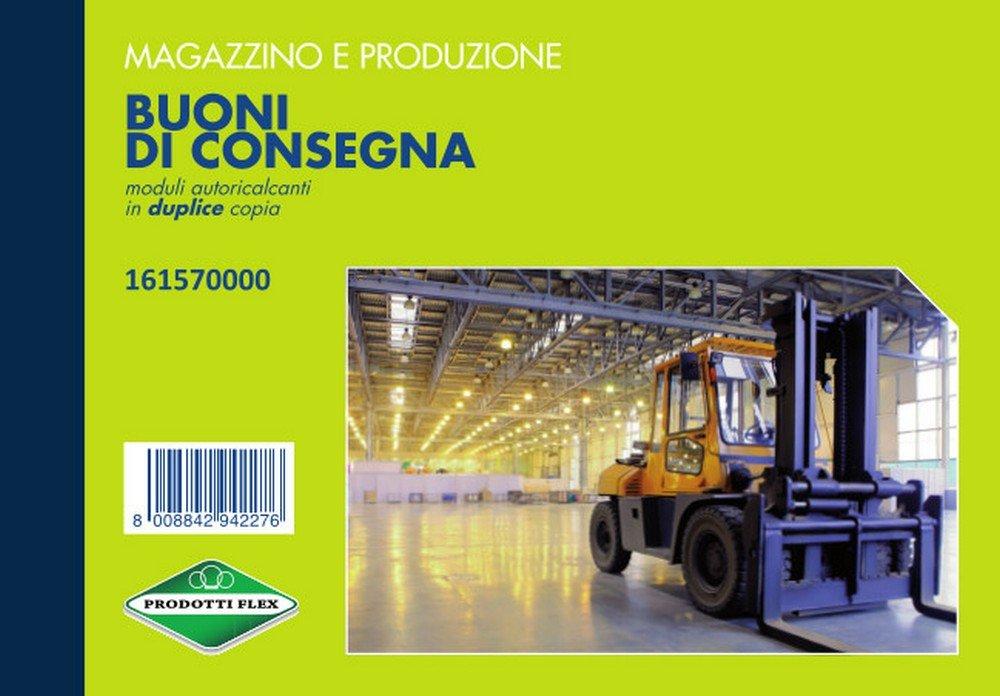 FLEX 16157000 BLOCCO BUONO CONSEGNA 12x17 2C conf. da 5 pz.
