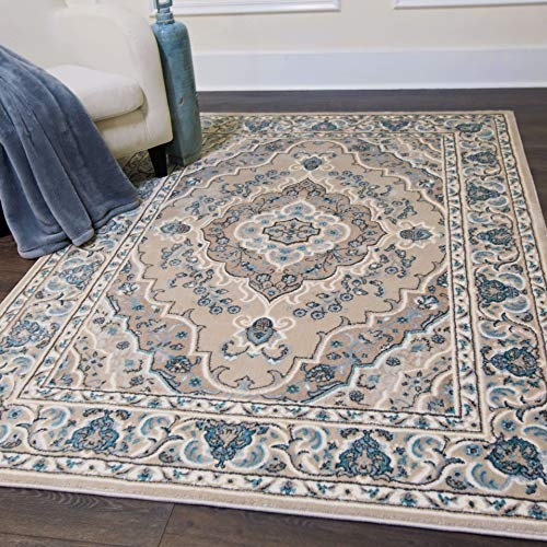 Home Dynamix 6531-186 Oxford Caspian Traditional Area Rug 20