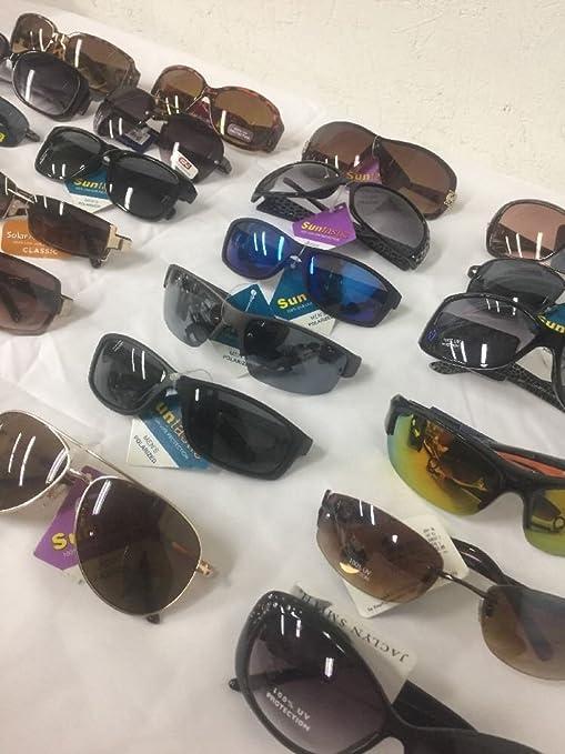 06c72b76cbb Amazon.com  Wholesale lot 50 Pairs Name Brand Sunglasses Asstd. Styles   colors  NEW  Health   Personal Care
