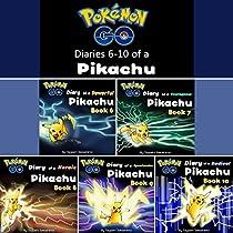 POKEMON GO: DIARIES OF A PIKACHU, SECOND 5 IN 1: POKEMON GO SERIES, BOOKS 6 - 10
