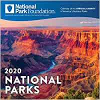 2020 National Park Foundation Wall Calendar [Idioma Inglés]