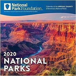 Astounding 2020 National Park Foundation Wall Calendar National Park Inzonedesignstudio Interior Chair Design Inzonedesignstudiocom