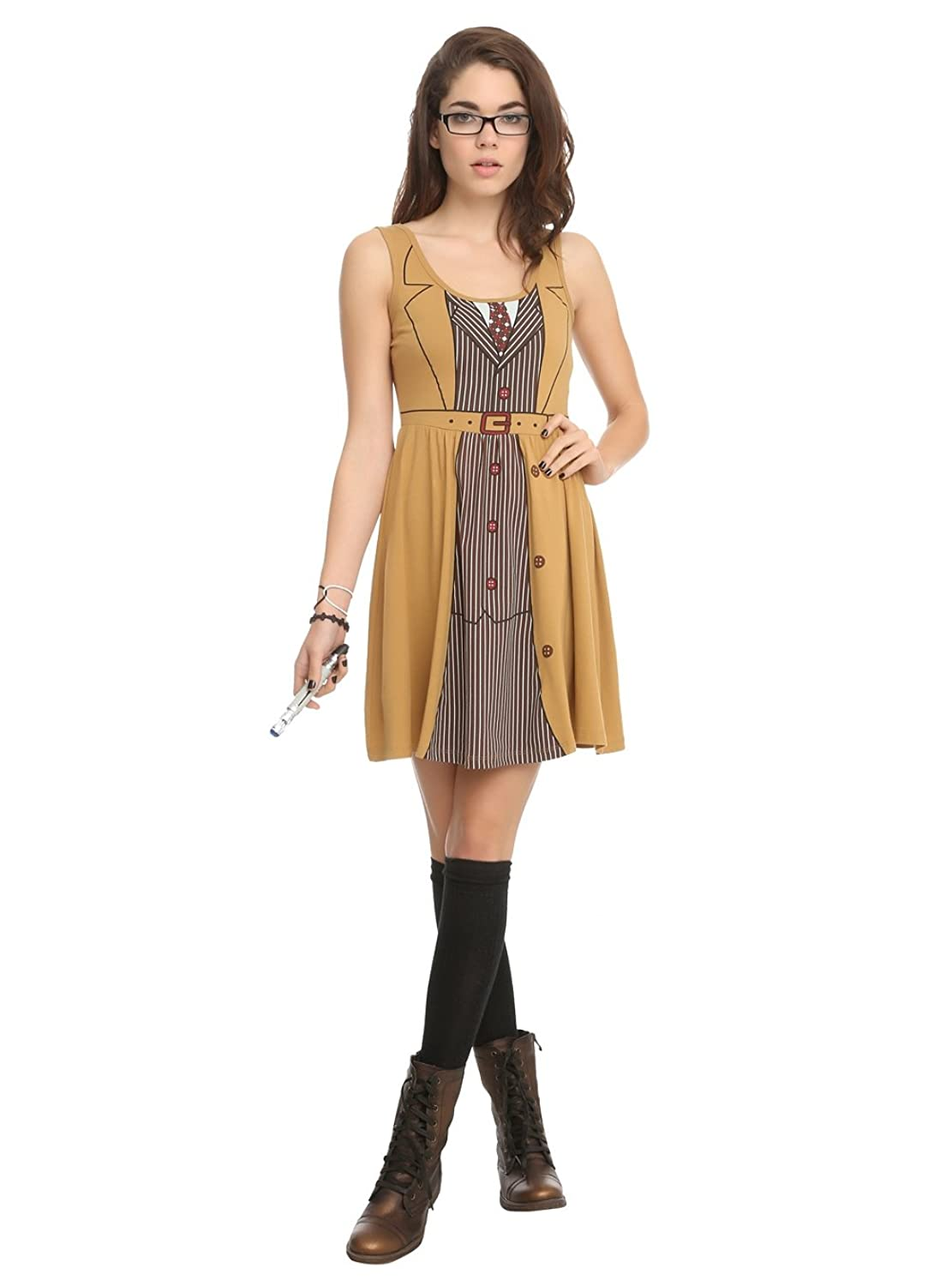 Doctor Who Her Universe David Tennant Tenth Doctor Costume Dress  sc 1 st  HalloweenAngel & Dr Who 10th Doctor Costume for Women