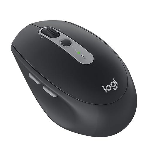 Logitech M590 Souris sans Fil Silencieuse Multidispositif Bluetooth pour  Windows Mac Graphite Noir (910-005197)  Amazon.fr  Informatique 1f14eccf9321