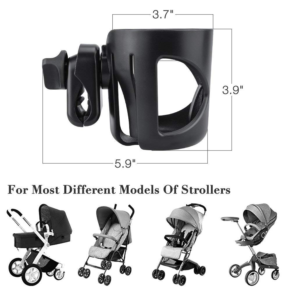 Large Cup Holder Water Bottle Drink Coffee Mug for Nuna Baby Stroller Pushchairs