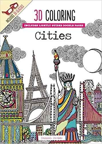 3d coloring cities emma segal 9781626864573 amazoncom books