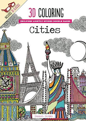 3d coloring cities emma segal 9781626864573 amazoncom books