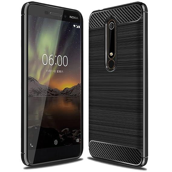 release date 3663e 2e249 Nokia 6 2018 Case, (Not for