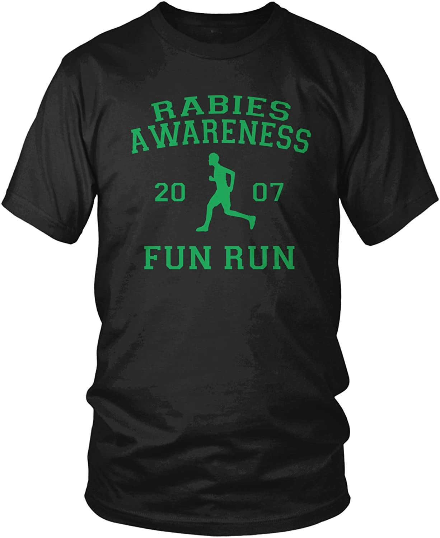 Amdesco Men's The Office Rabies Awareness Fun Run 2007 T-Shirt