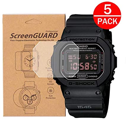1 5 Dw5600e Casio D'écranUne PackPour V Protection Montre W29eIbEHDY