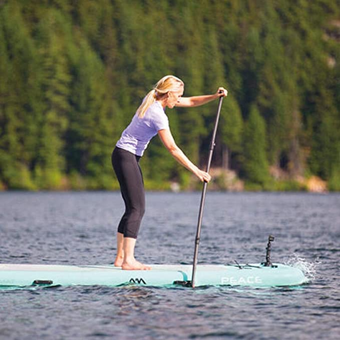 YONGMEI Tablero de Yoga acuático Sup Paddle Board Esquí acuático Surf Paddle Board, Azul Claro (Color : Green): Amazon.es: Deportes y aire libre